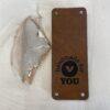 leren label handmade for you